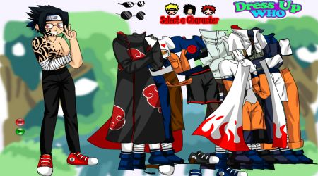 Screenshot - Dress Up Naruto