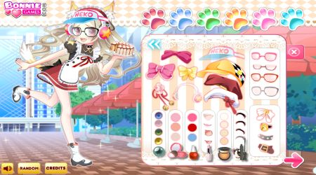 Screenshot - Neko Girl Dress Up: Chu Chu